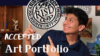 👨🏽🎨My Accepted RISD Portfolio 2020