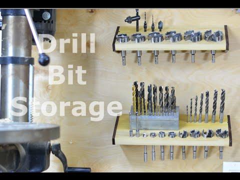 Tool wall - Drill bit storage