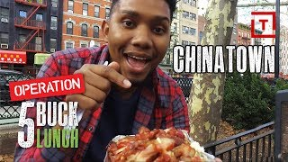 The Best Cheap Food in NYC's Chinatown || 5 Buck Lunch