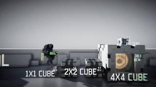 【DongBi   VaporIG】原创独立游戏Ultimate Cube demo混剪