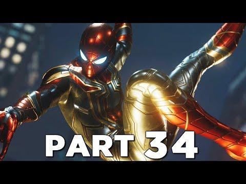 SPIDER-MAN PS4 Walkthrough Gameplay Part 34 - IRON SPIDER SUIT Marvel&39;s Spider-Man