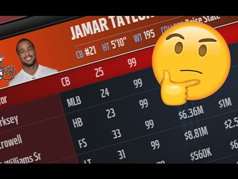 HOW MANY 99 OVERALL PLAYERS DOES IT TAKE FOR THE BROWNS TO WIN THE SUPER BOWL? MADDEN NFL 17