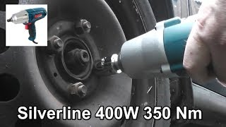 Silverline Silverstorm 400W Impact Wrench