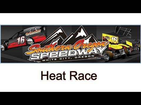 Southern Oregon Speedway Heat Race #1!