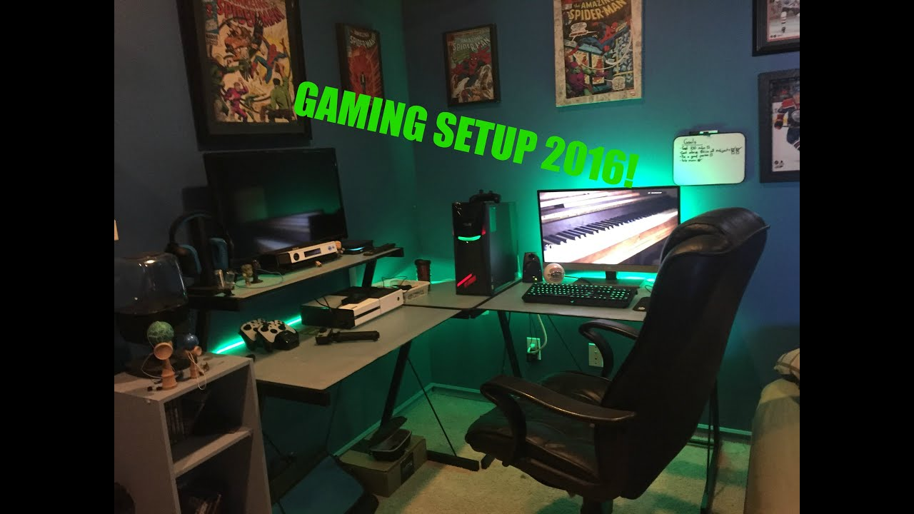 Gaming Setup Room Tour Youtube