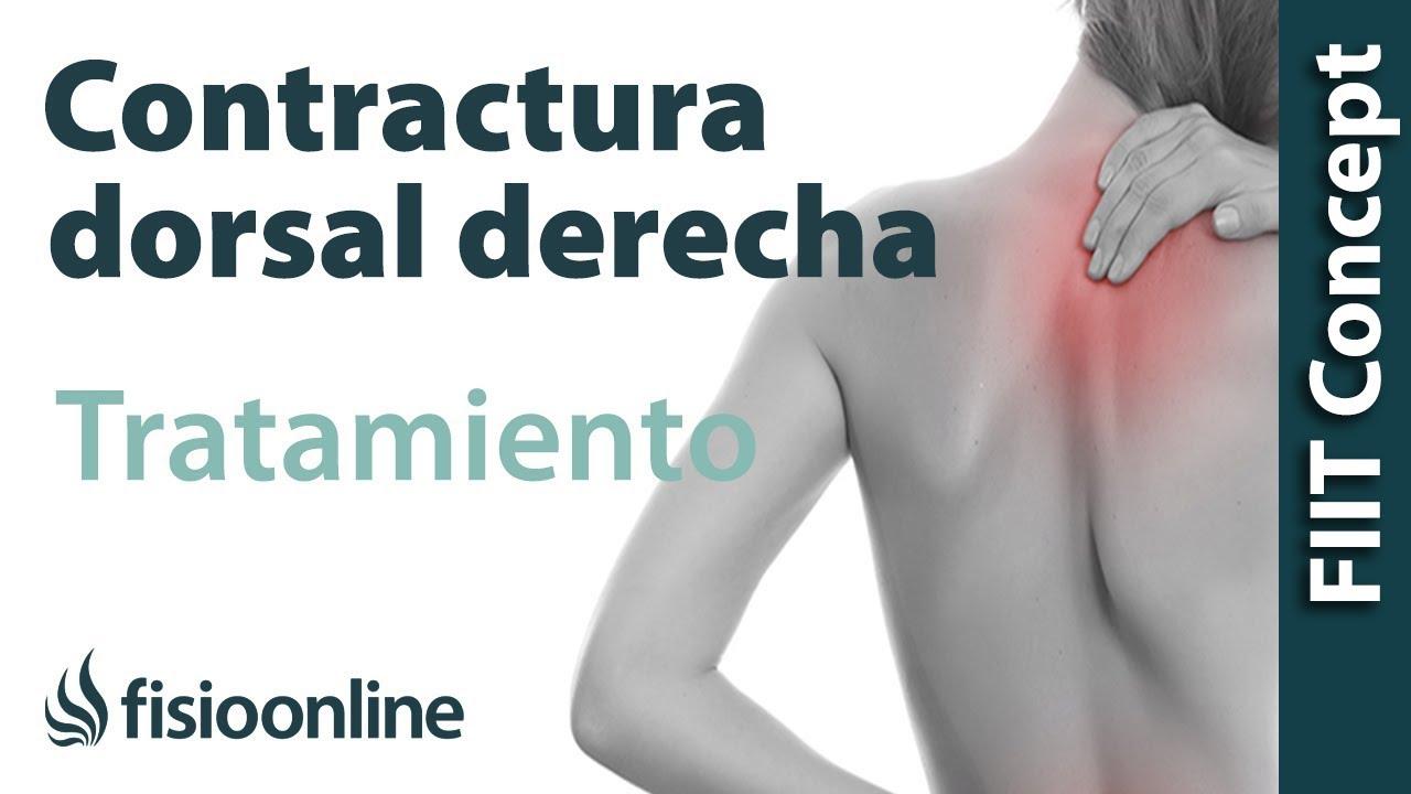 Sintomas de contractura cervical y dorsal