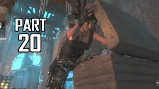 Rise of the Tomb Raider Walkthrough Part 20 - Chamber of Exorcism (Let's Play Gameplay Commentary)