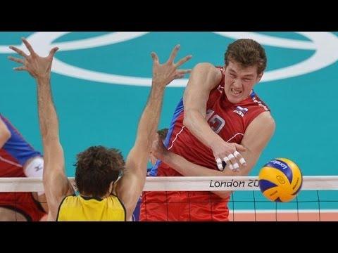 Волейбол  Мужчины Большой Чемпионский Кубок Россия США  24 11 2013