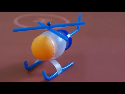 How to make DIY Plastic Bottle Toy Helicopter