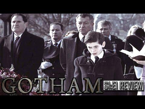 "Gotham Season 1 Episode 1 ""Pilot"" REVIEW!"