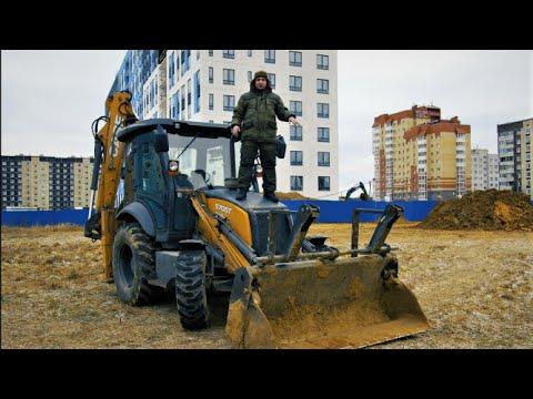 """""""Бюджетный"""" Экскаватор погрузчик CASE 570ST ИНДУС Обзор"""