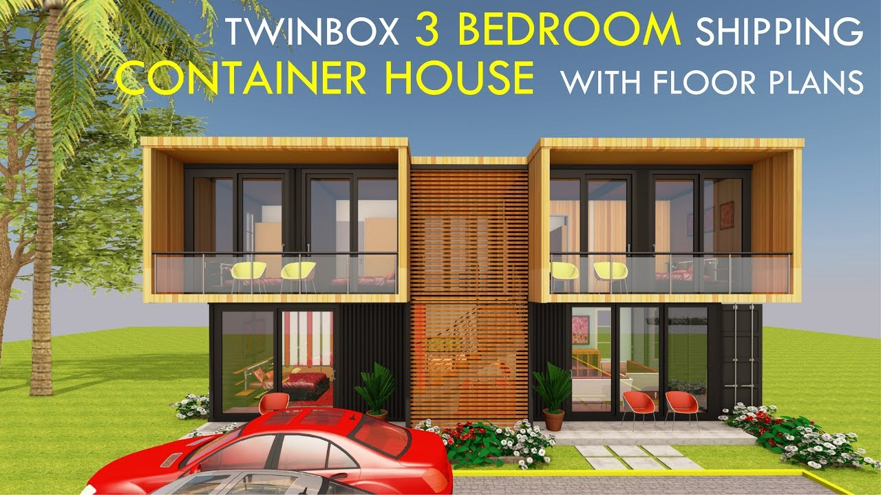 Amazing Shipping Container Home 3 Bedroom Prefab Design