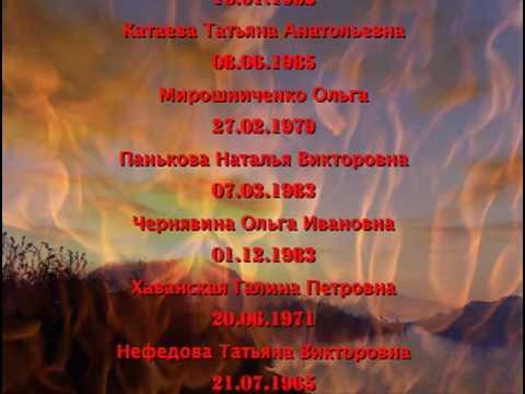 Посвящается погибшим в пожаре в Перми - Песня