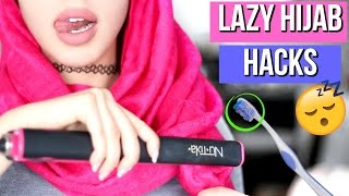10 Lazy Hijab Hacks Every Muslim Girl Should Know!!