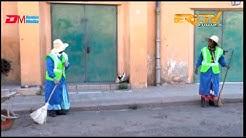 ERi-TV: Cleaning ladies' take on coronavirus - ኣኽሊል ጸልማት