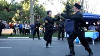 День г. Анапа - Казачий танец - ребята из Краснодара