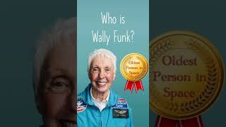 Wally Funk goes to space! | #1minutemaths