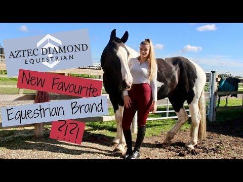 New Fav Equestrian Brand ?!?! | Aztec Diamond Equestrian Review