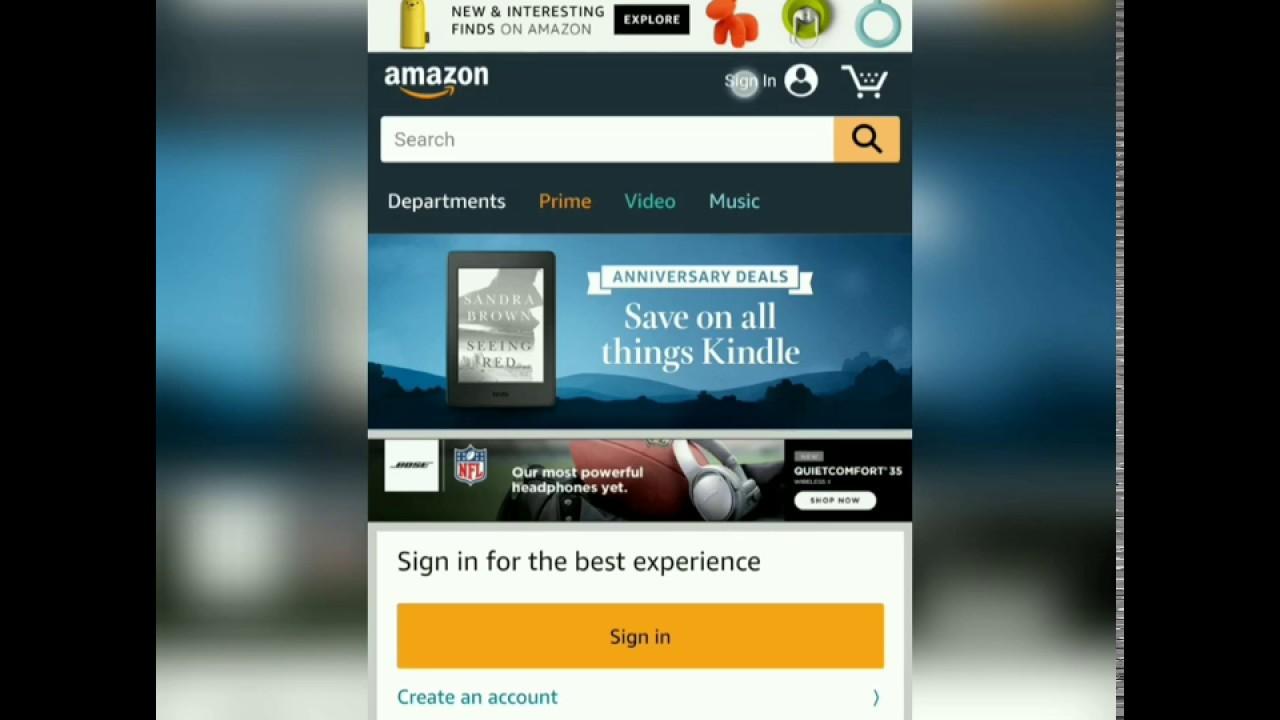 Amazon Profil Link Verschicken