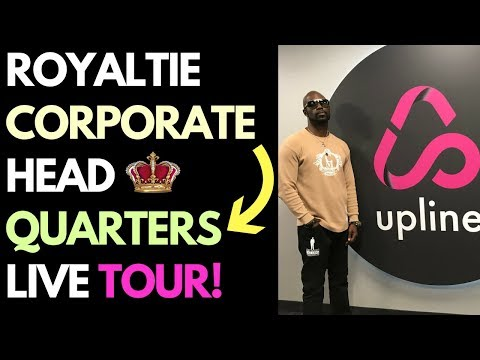 Royaltie Corporate Head Quarters Tour - Is Royaltie a Scam? - See For Yourself! -  Royaltie Elite