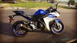 My New (1st) Bike!  2015 Yamaha YZF-R3