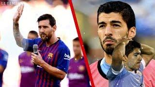 Messi hizo una FUERTE PROMESA por la que Suárez está preocupado y sorprendido