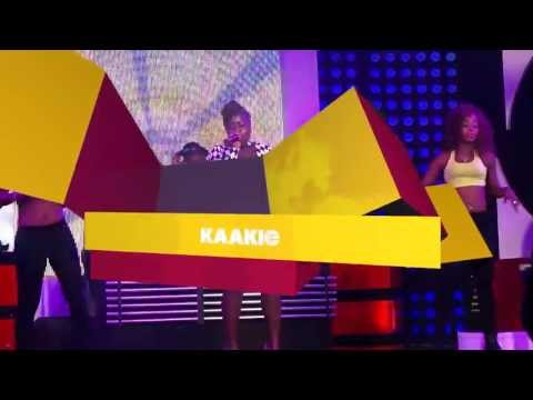 Kaakie - Performing 'Too Much' at Channel O News launch | GhanaMusic.com Video