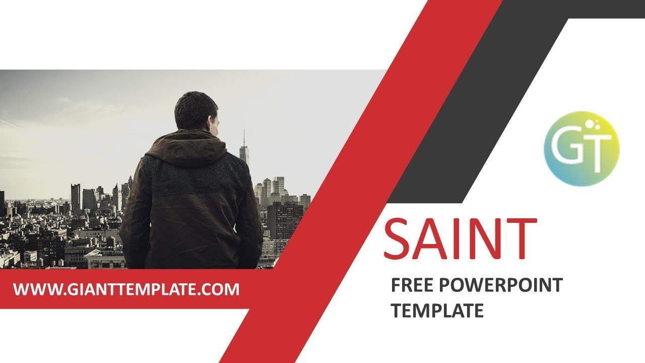Clean Powerpoint Templates Free Download 20 Slide