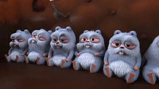 Grizzy and the Lemmings New short episode in hindi  Lemmings ko bukhar  hindi song  2021