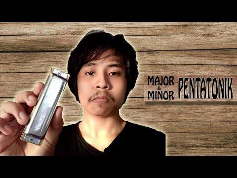 Tutorial Major & Minor Pentatonik di Harmonika