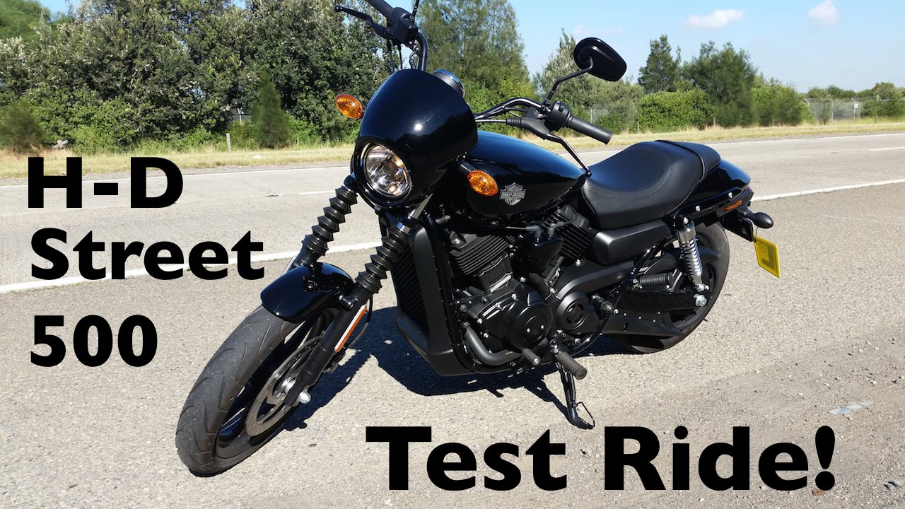 Harley-Davidson Street 500 Test Ride | The Gateway to H-D Ownership ...