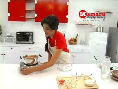 สอนทำอาหารต้มยำกุ้งน้ำข้น โดย Mamaru
