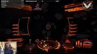 Elite Dangerous : fas vs fdl + combat logging python