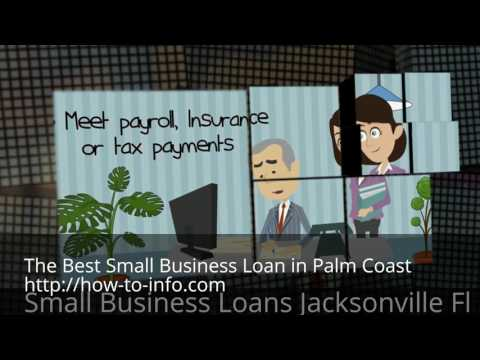 In need of a small business loan?