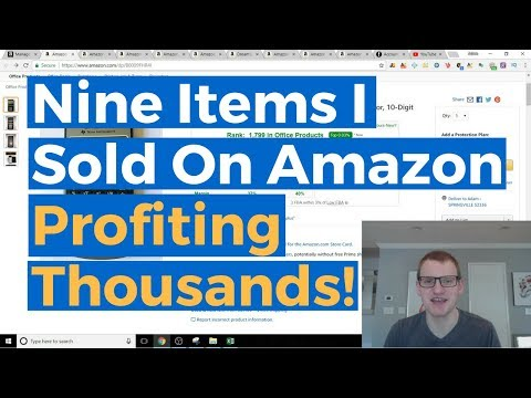 9 Products I Sold On Amazon From Wal-Mart, TJ Maxx, Best Buy, Woot.com \\ Retail Arbitrage Examples