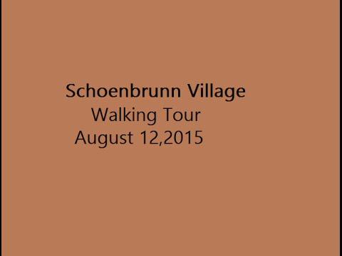 Historic Schoenbrunn Village Walking Tour Pictures 8.12.15