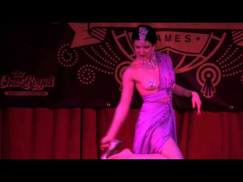 World Burlesque Games 2012: 2nd Place, Bonnie Fox