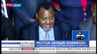 Waakilishi wadi 32 katika Machakos wanamtaka Gavana Alfred Mutua kuomba msamaha bila masharti