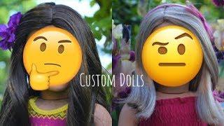 Making Charlise and Delaney! (Custom American Girl Dolls)