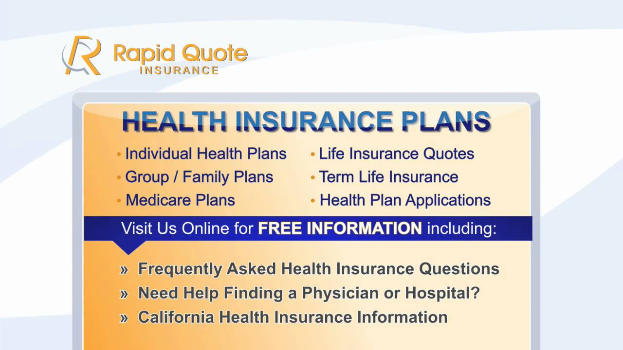 Health Insurance Quotes, Affordable Life Insurance, Online Quotes California