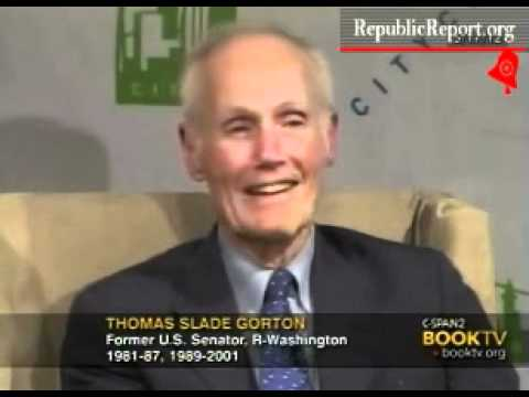 Corporate lobbyist Slade Gorton complains about ethics rules