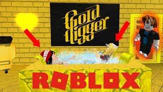 ROBLOX GOLD DIGGER PRANK! Experimento Social Roblox