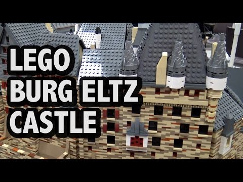 LEGO Burg Eltz Medieval German Castle | BrickCon 2016