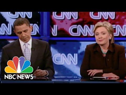 When Hillary Clinton Battled Barack Obama | NBC News