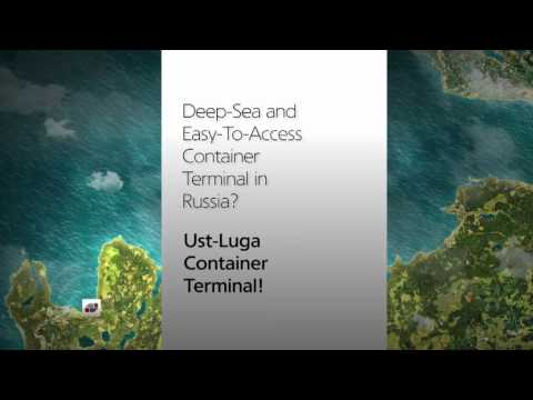 New Container Terminal in Russia. Ust-Luga Container Terminal (ULCT)