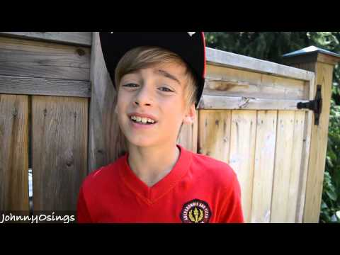 9 Year-old Sings Justin Bieber - All Around The World (JohnnyOsings)