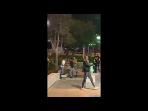 Otra pelea de magrebíes, en las cercanías del Parque de Santa Catalina en Las Palmas de Gran Canaria