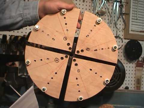 Plate turning with home made cole jaws & Plate turning with home made cole jaws - YouTube