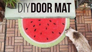 Fruity Door Mats ♥ DIY