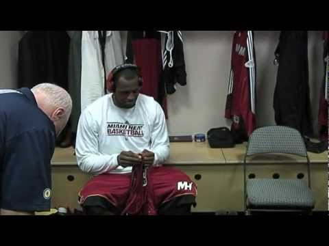 LEBRON JAMES pre-game hypemusic dress 2011 finals.mpg